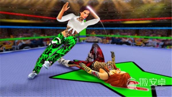女子摔跤隊