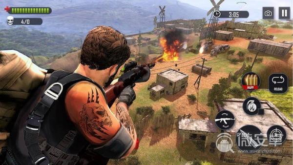 戰場火力:射擊游戲2019