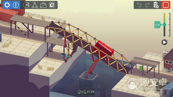 桥梁构造大师