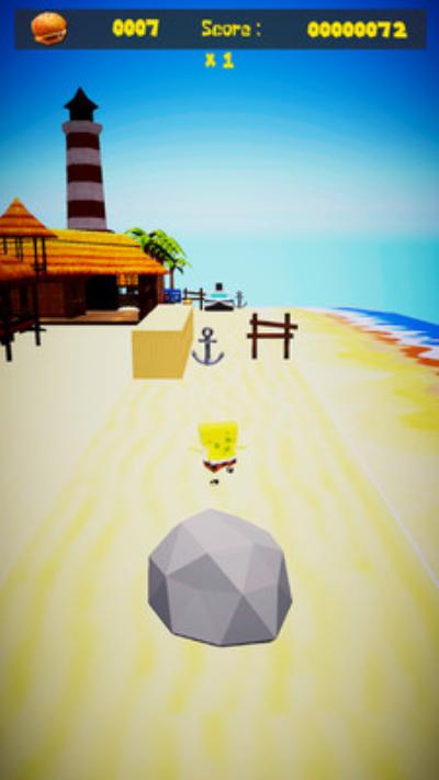 海绵宝宝:海边跑酷